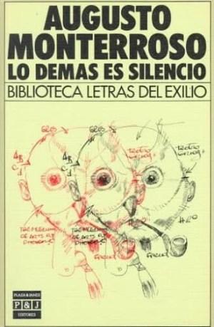 Lo demás es silencio. Cubierta de la edición de Plaza & Janés.