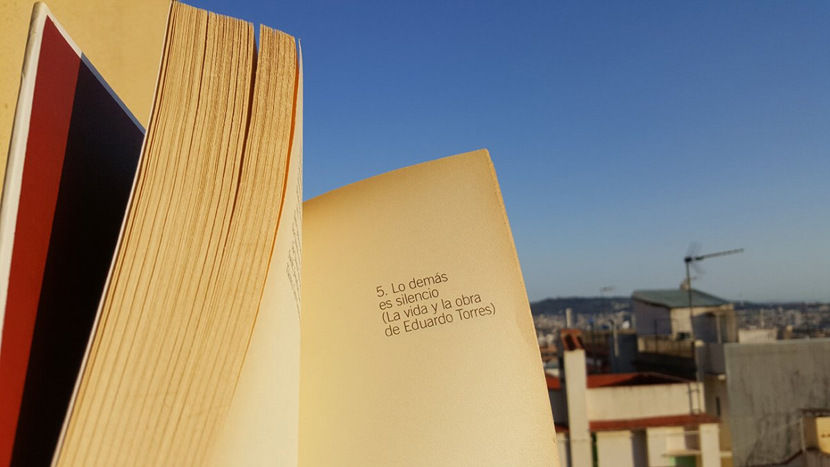 Lo demás es silencio - vida y obra de Eduardo Torres - libro de Monterroso
