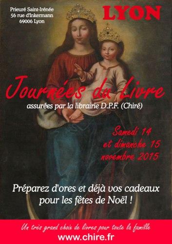 Journées du Livre 2015 de Chiré à Lyon