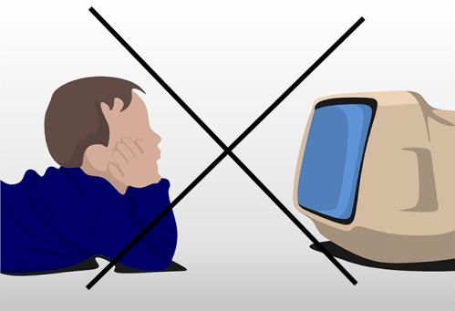 Goûtez à la vraie vie sans télévision!
