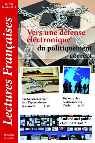 Lectures Françaises février 2018