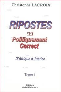 ripostes au politiquement correct t01 d-afrique a justice