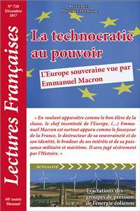 Technocratie Europe Lectures Française