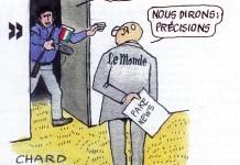 Le Monde Berlusconi Mafia fake news
