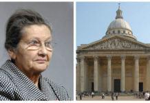 Simone Veil Panthéon