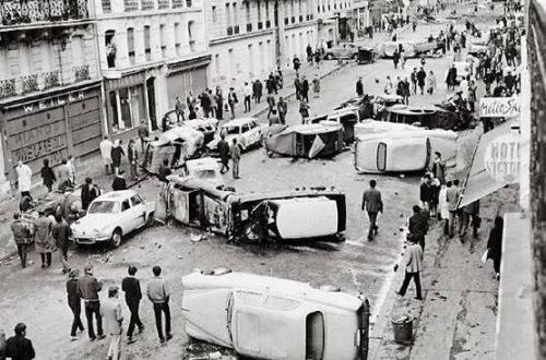 Le cinquantenaire de Mai 68