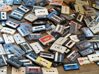 Walkman tapes cassettes K7
