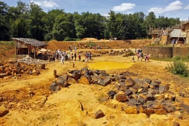 Guédelon juillet 2009
