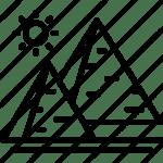 pyramided