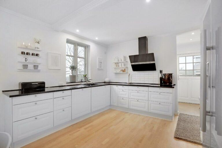 LED spots i køkken