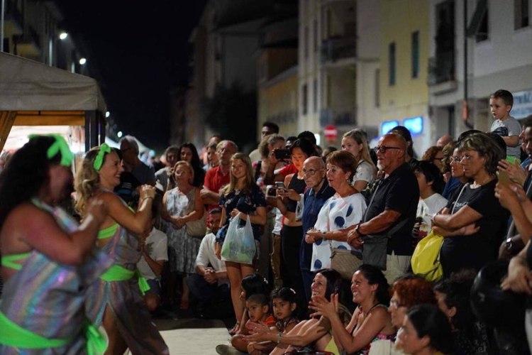 Le danzatrici di Iside - la Notte Bianca 2019 in Via Datini