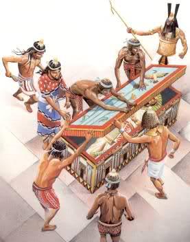 Seth inganna Osiride e lo seppellisce vivo