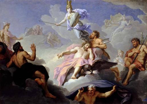 Nacita di Atena di Rene Antoine Houasse