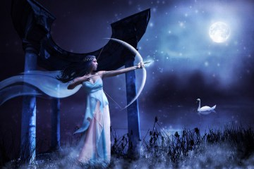 Luna in Sagittario