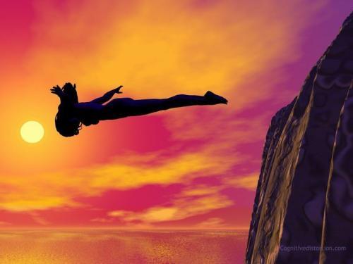 Saltare nelle proprie paure