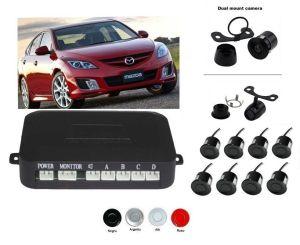 Senzori parcare fata spate cu camera video Clasa protectie IP67