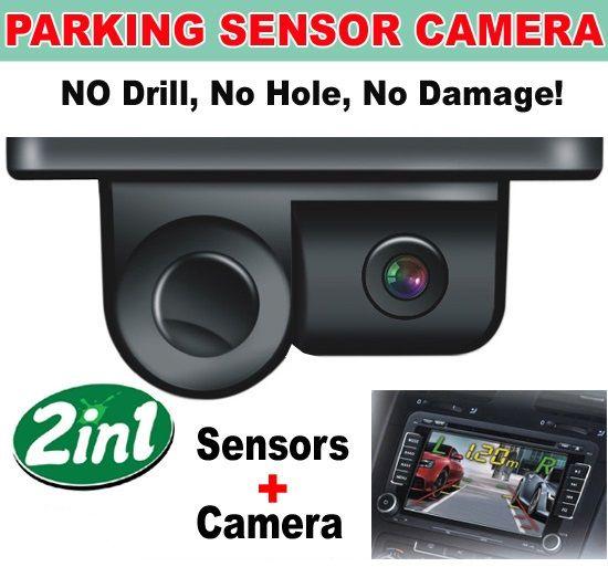 Senzori parcare cu camera video 2 IN 1 Incorporat S450