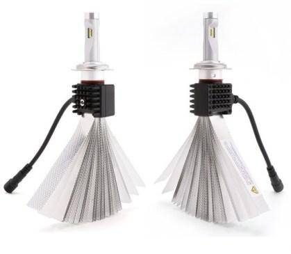 Leduri H7 pentru far auto 50W Chip Cree 7200 Lm 1224V