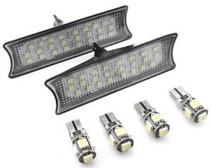 Set Plafoniera LED Auto Fata dedicate BMW E90/E91/E92 - BTLL-072