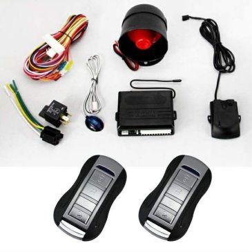 Alarma auto K211 cu 2 telecomenzi