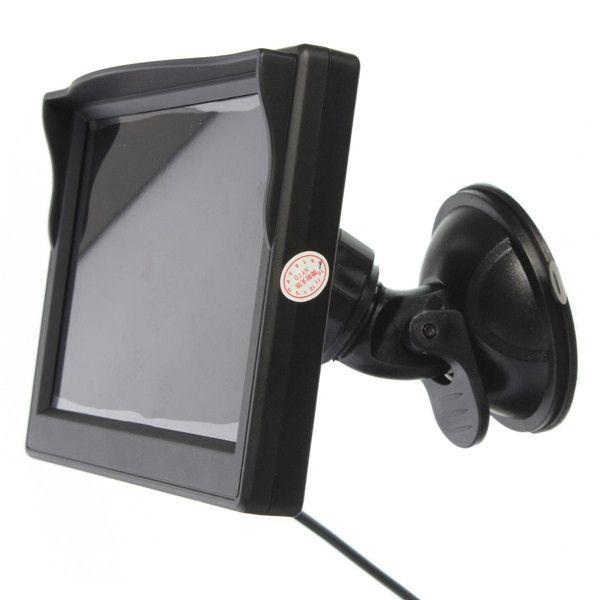 """Display auto LCD de 5"""" D706-B cu ventuza pentru parbriz"""