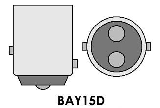 Led auto rosu BAY15D 50W, 12V - 24V cu leduri EPISTAR, leduri auto interior / exterior, led pozitie, semnalizare, marsarier, stopuri / frana…