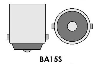 Led auto galben50W BA15S, 12V - 24V cu leduri EPISTAR, leduri auto interior / exterior, led pozitie, semnalizare, marsarier, stopuri / frana…