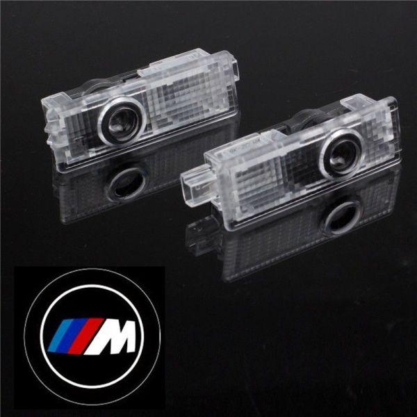 Logo Portiere BMW M Seria 3, 5, 6, 7, GT, Z4 cu led de 5W