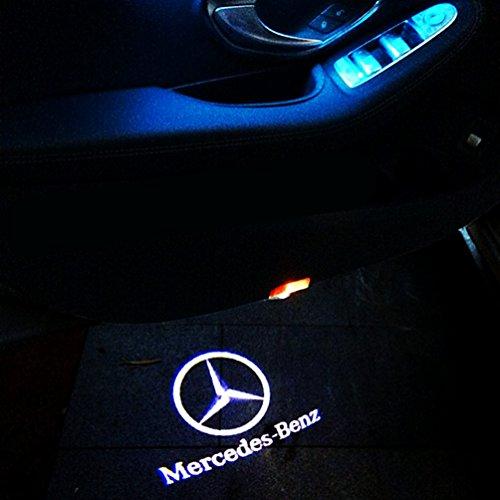 Led logo Mercedes CLA, CLS, E Coupe cu holograma