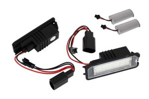 Lampi Numar Led SKODA Superb 2 Sedan 2008+ CANBUS OEM