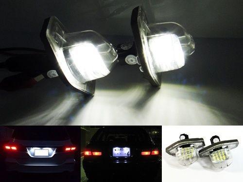 Lampi numar led HONDA CR-V, FR-V, JAZZ, ODYSSEY CANBUS OEM