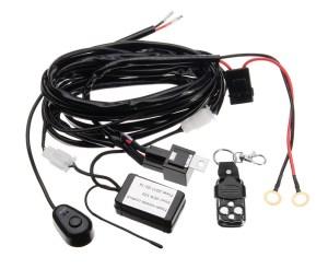Cablaj wireless cu telecomanda pentru 1 proiector led/led bar pana la 288W PREMIUM
