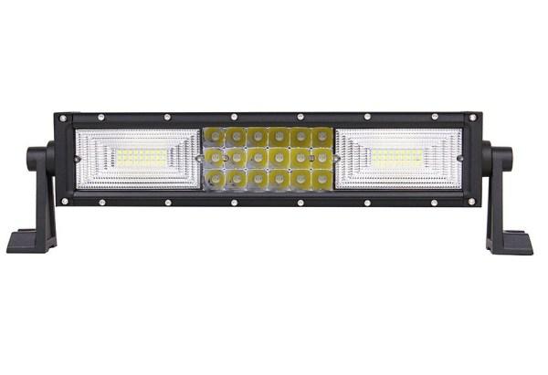 """LED Bar Auto Curbat 216W, leduri pe 3 randuri, 12V-24V, 15120 Lumeni, 13,5""""/34,2 cm, Combo Beam 12/60 Grade PREMIUM"""