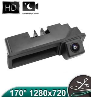 Camera marsarier HD, unghi 170 grade cu StarLight Night Vision Audi A4 B6, A4 B7, A6 C6 4F, Q7 4L, A3 8P PREMIUM