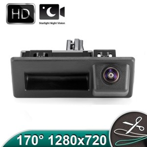 Camera marsarier HD, unghi 170 grade cu StarLight Night Vision VW Tiguan, Touaran, T6, Caddy - PREMIUM