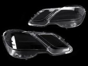 Set 2 sticle faruri pentru Mercedes E-Class W212 Non Facelift (2009 - 2012) - HW013 OEM