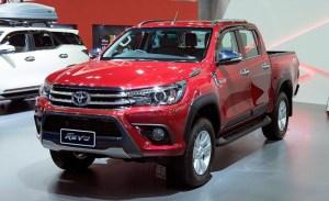 Bullbar poliuretan, ABS Toyota Hilux Revo 2015, 2016, 2017, 2018, 2019 TYA409 PREMIUM