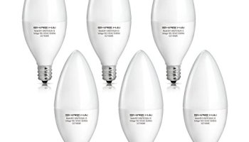Philips 461863 40w equivalent soft white dimmable b11 led light bulb shine hai candelabra led bulbs 40w equivalent 4000k neutral white decorative candle light bulb e12 mozeypictures Gallery