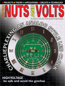 Nuts & Volts cover MAR 2018