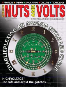 Nuts & Volts cover MAR 2018