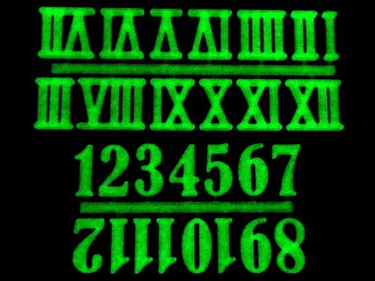 Glow-in-the-Dark Numbers