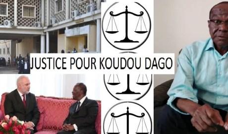 SOS JUSTICE POUR KOUDOU DAGO LEDEBATIVOIRIEN.NET