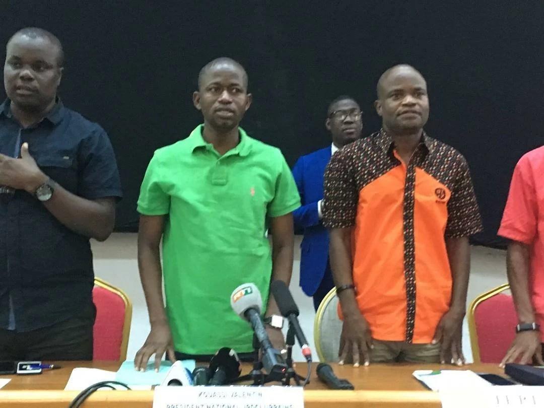 COTE D'IVOIRE: LA JEUNESSE DE L'OPPOSITION CRÉE LA COALITION DE LA JEUNESSE IVOIRIENNE POUR LA DÉMOCRATIE LEDEBATIVOIRIEN.NET