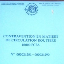 contravention 1