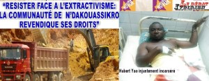 libération de yao Hubert prison LEDEBATIVOIRIEN.NET