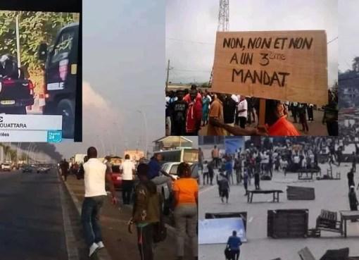 manifestations contre le 3è mandat de Ouattara LEDEBATIVOIRIEN.NET
