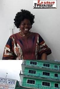 la directrice de IVOIRE COUTURE MIXTE DAME ZOUHUM AFFOUE EMILIENNE LEDEBATIVOIRIEN.NET