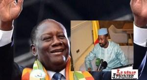 Coopération et voisinage : Assimi Goïta exprime gratitude à Alassane Ouattara ledebativoirien.net