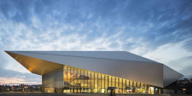 Swisstech Convention Center by Richter-Dahl-Rocha-Associees-architectes
