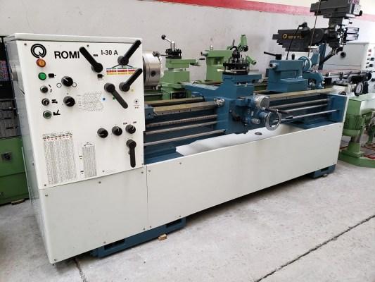 Torno Romi I-30-A de 1500 mm. Ledemaquinas (4)
